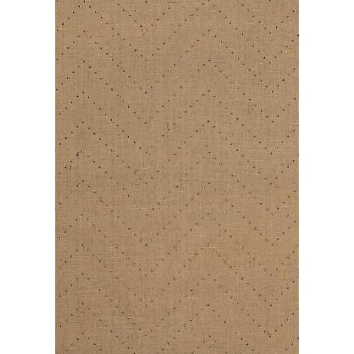 Colton Chevron Wallpaper, Natural/Bronze