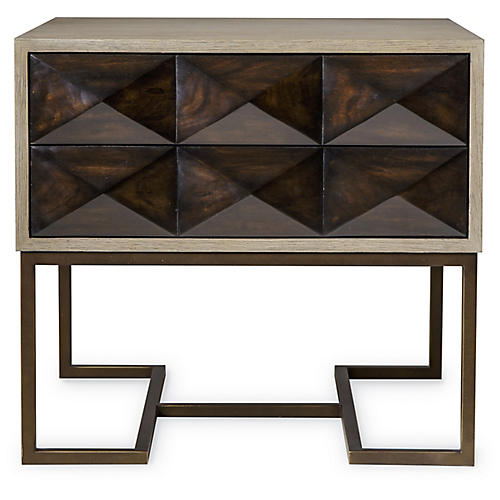 Casey Side Table, Walnut