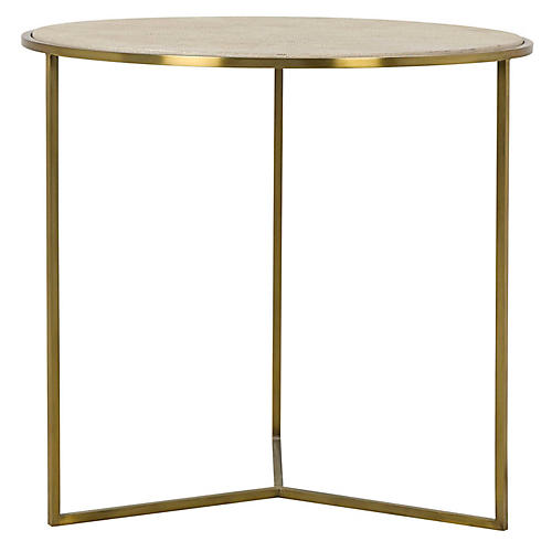 Gwen Side Table, Sand