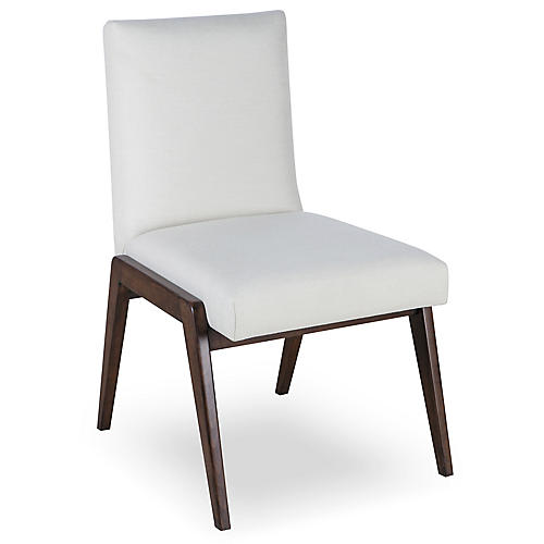 Owen Side Chair, Ivory