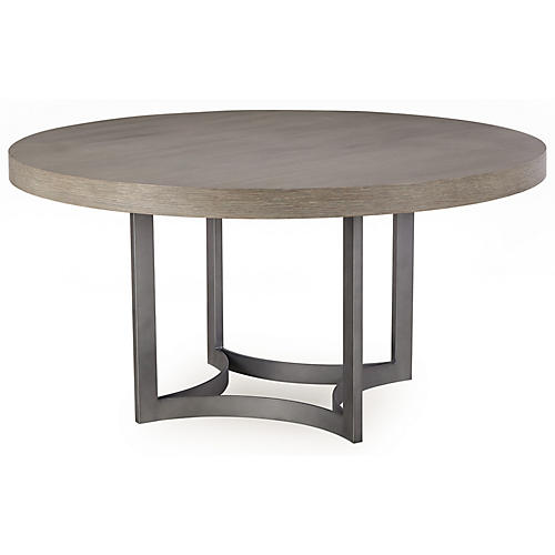 Paxton Round Dining Table, Oak