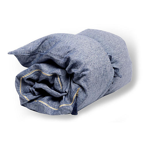 Solid Throwbed, Blue
