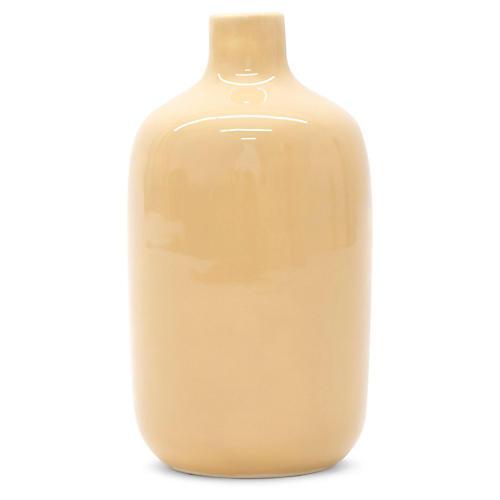 "7"" Guana Vase, Ochre"