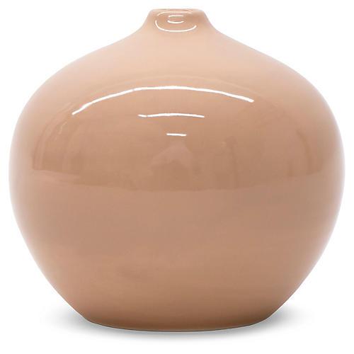 """5"""" Croix Vase, Blush"""