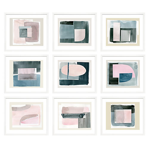 , S/9 Minimal Abstracts Landscape I