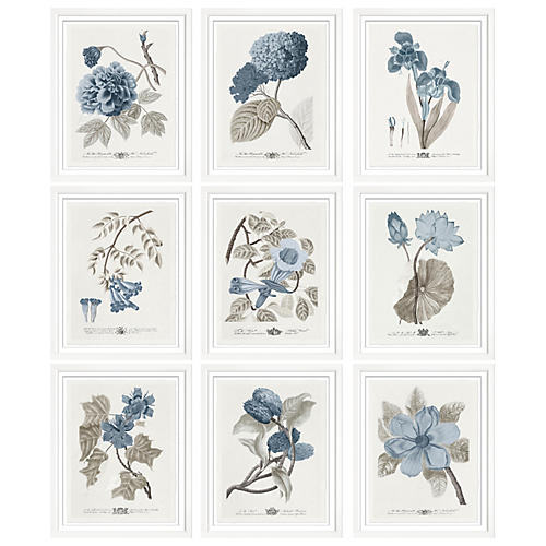 S/6 Imperial Flowers I
