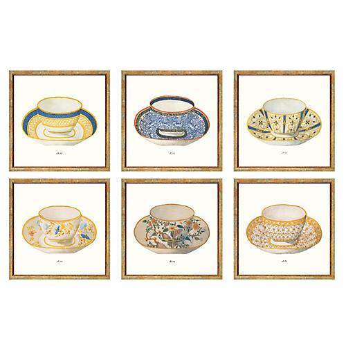 S/6 British Teacups I