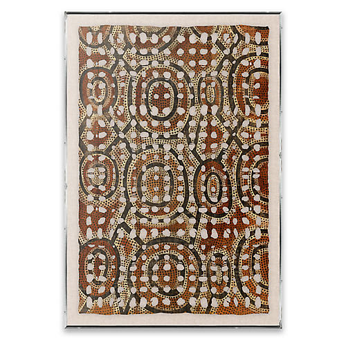 Amate Paper, Aboriginal Pattern