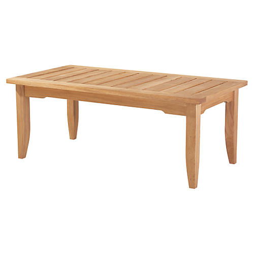 Edgewood Coffee Table, Natural