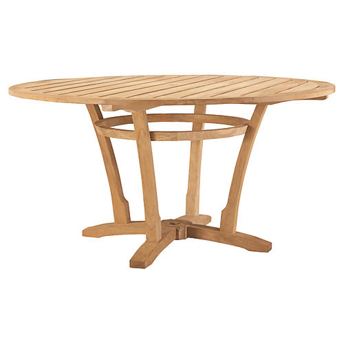 Edgewood Round Dining Table, Natural
