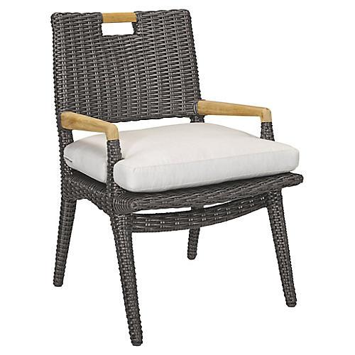 Cooper Armchair, Natural Sunbrella