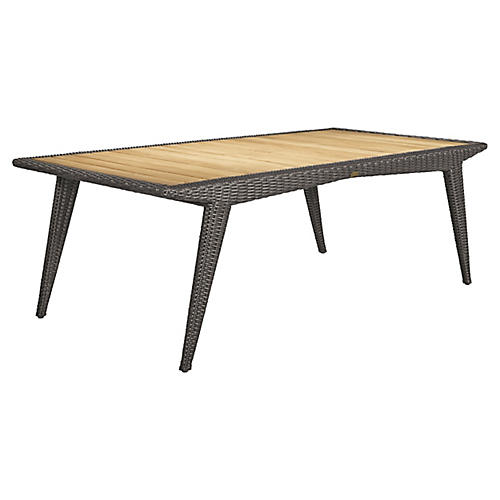 Cooper Dining Table, Natural/Brown
