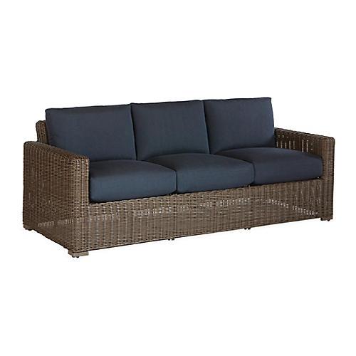 Fillmore Sofa, Navy Sunbrella