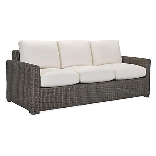 Fillmore Sofa, Natural Sunbrella