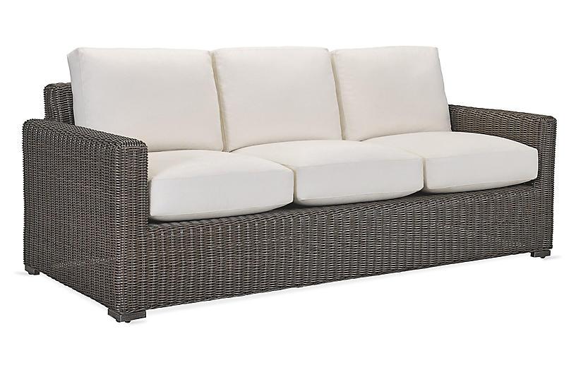 Fillmore Sofa, Natural Sunbrella