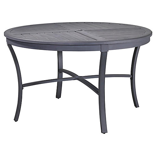 Raleigh Round Dining Table, Black
