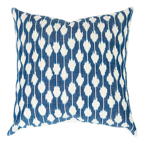 Jaspe 21x21 Pillow, Indigo