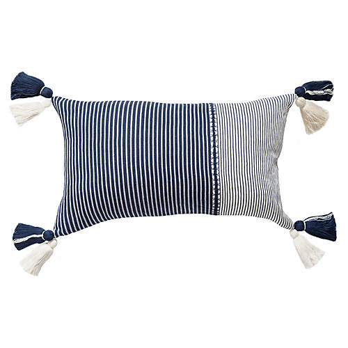 Randa 13x20 Pillow, Indigo