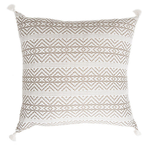 San Cristóbal 21x21 Pillow, Tan