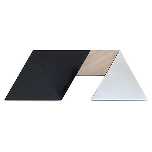 Felix Accent Mirror Set, Black