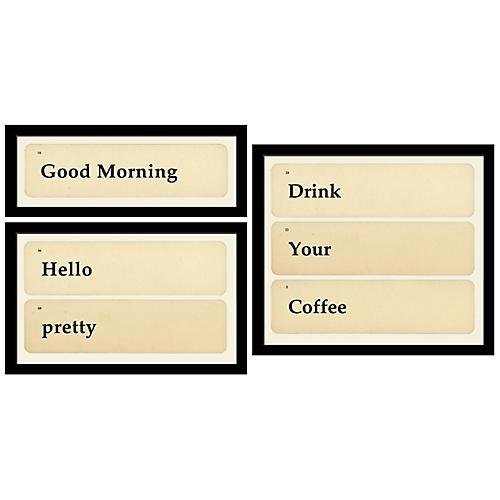 Smith & Co., Flashcards: Good, Pretty, Coffee