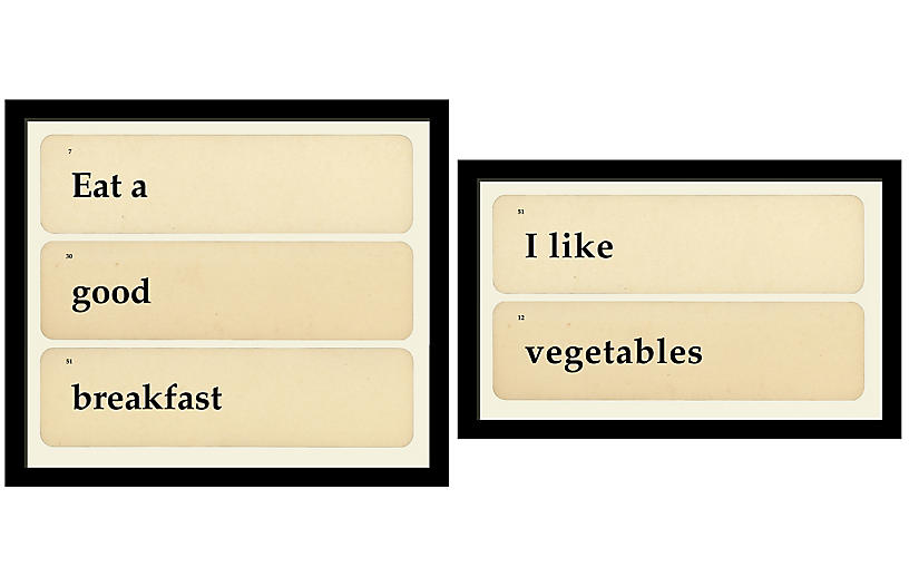 Smith & Co., Flashcards: Vegetable Breakfast