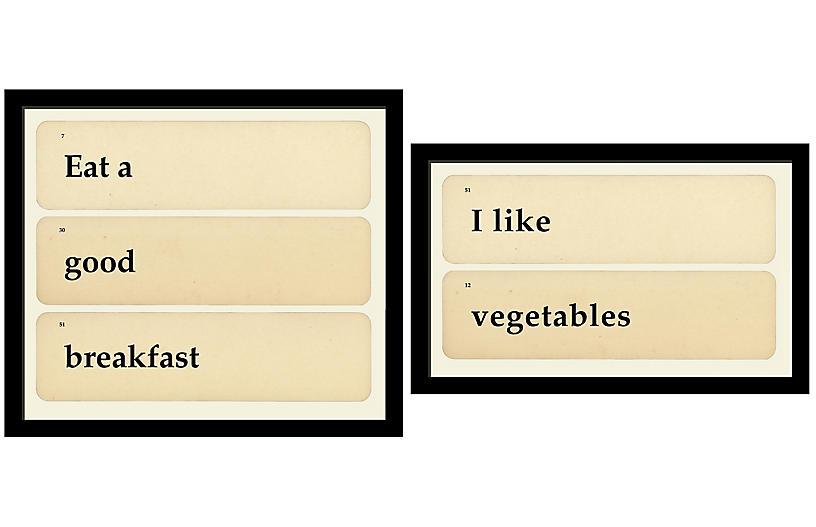 Smith & Co., Flashcards: Vegetable Breakfast
