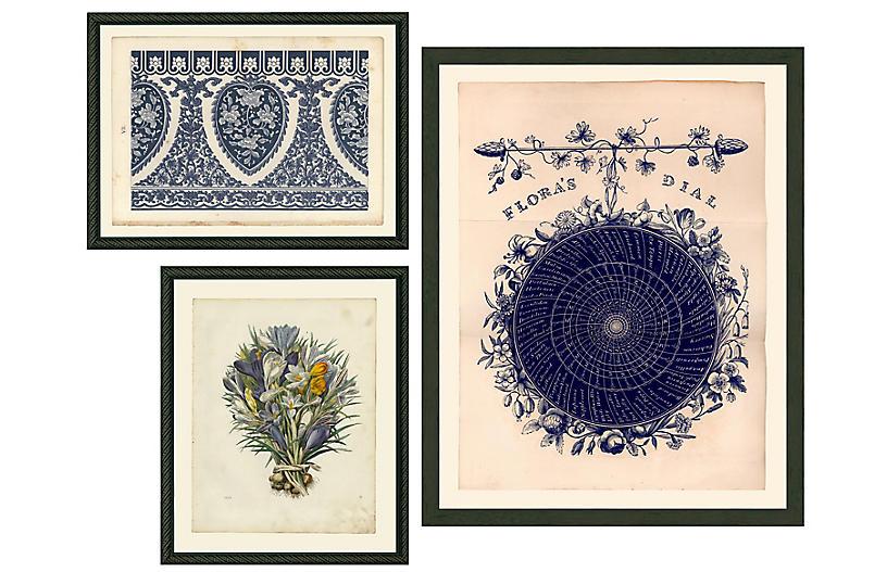 Smith & Co., Three Flowers