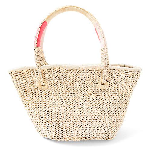 Walla Mini Bag, Natural/Pink