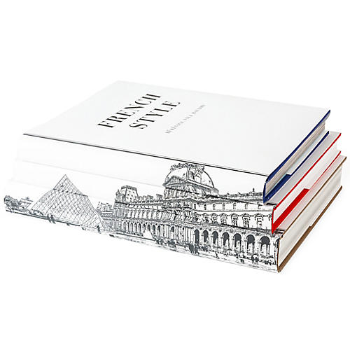 S/3 Paris Book Collection
