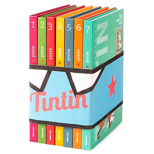 S/7 Adventures of Tintin Book Collection