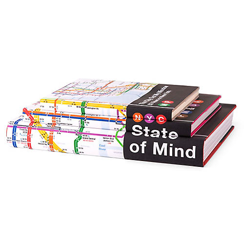 S/3 NYC State of Mind Book Collection