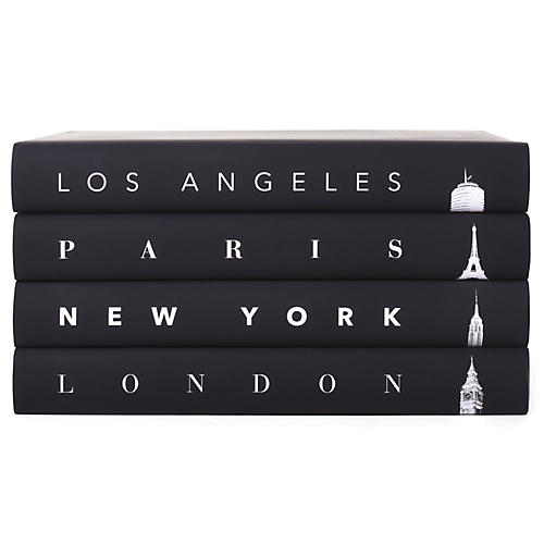 S/4 Taschen Cities Atmospheric Book Collection