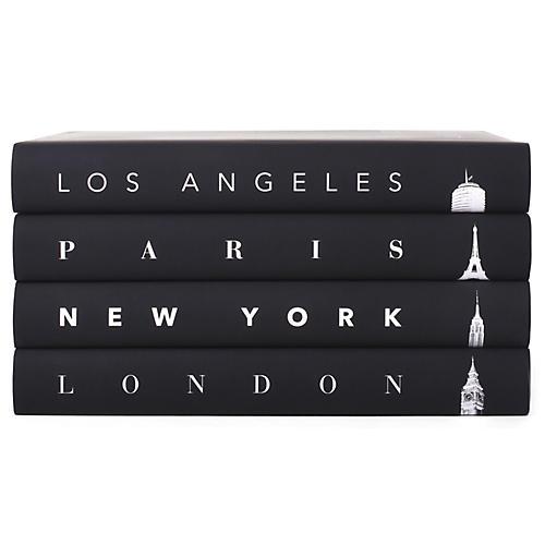 S 4 Taschen Cities Atmospheric Book Collection