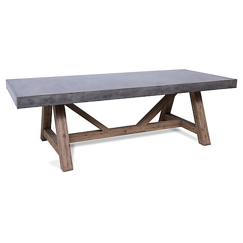 Nordland Manor Dining Table, Gray