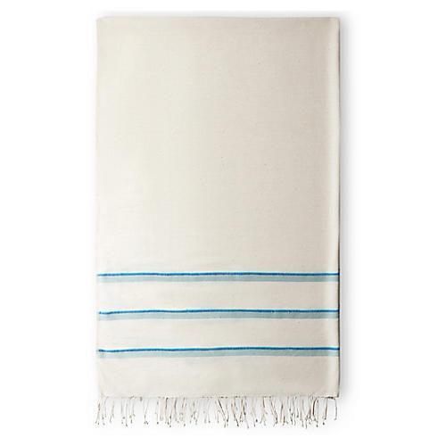 Omo Bath Towel, Azure