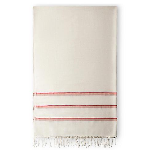 Omo Bath Towel, Cerise