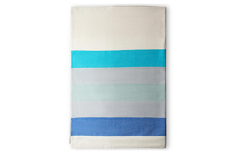 Omo Shower Curtain, Azure