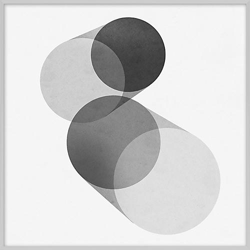 Grayscale Geometric IV
