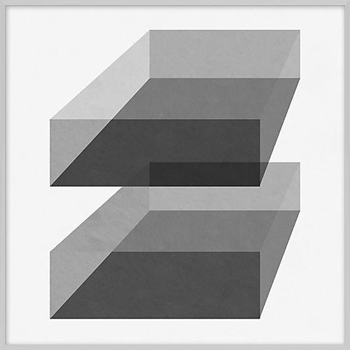 Grayscale Geometric VI