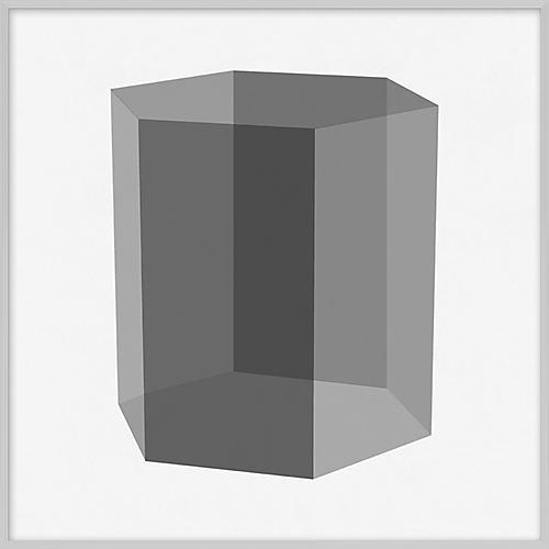 Grayscale Geometric XIV