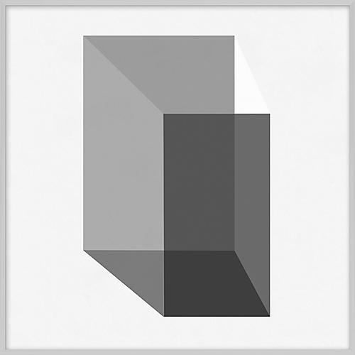 Grayscale Geometric XX