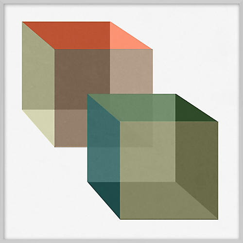 Pastel Geometric I
