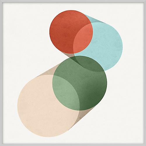 Pastel Geometric X
