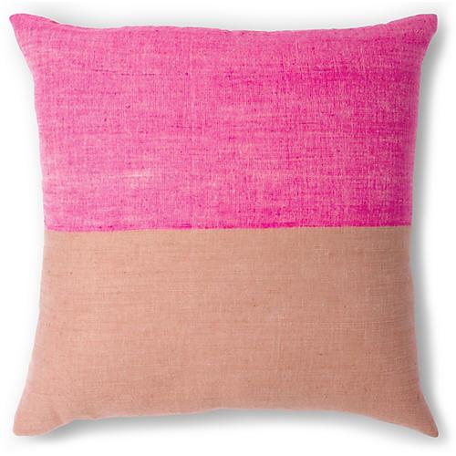 Karo 20x20 Pillow, Cerise