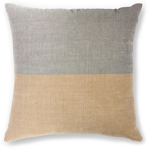 Karo 20x20 Pillow, Sable