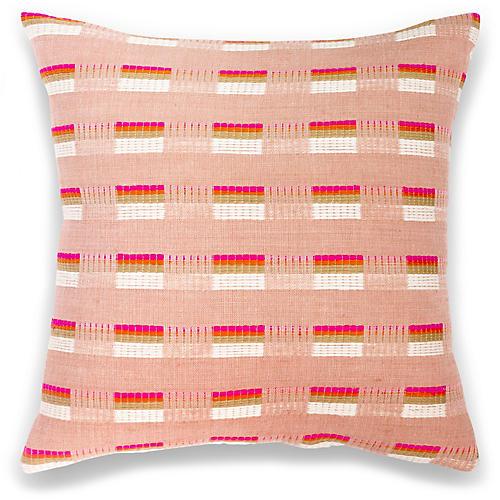 Turmi 18x18 Pillow, Cerise
