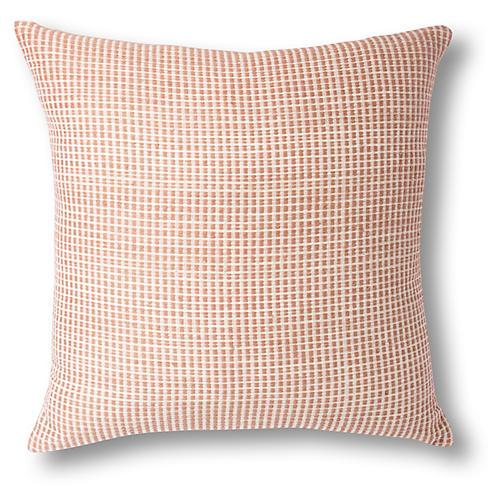 Aman 26x26 Pillow, Dusty Rose