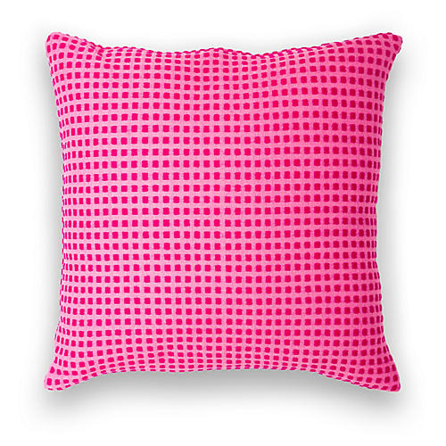 Hamar 18x18 Pillow, Fuchsia