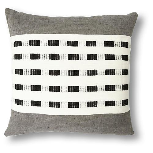 Idegu 20x20 Pillow, Slate
